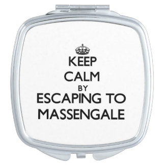 Keep calm by escaping to Massengale Georgia Compact Mirrors