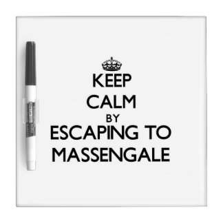 Keep calm by escaping to Massengale Georgia Dry-Erase Board