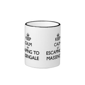 Keep calm by escaping to Massengale Georgia Mugs