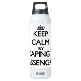 Keep calm by escaping to Massengale Georgia 16 Oz Insulated SIGG Thermos Water Bottle