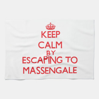 Keep calm by escaping to Massengale Georgia Towel