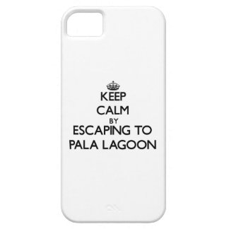 Keep calm by escaping to Pala Lagoon Samoa iPhone 5 Case