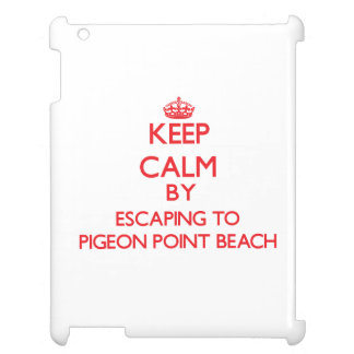 Keep calm by escaping to Pigeon Point Beach Califo Case For The iPad 2 3 4