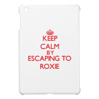 Keep calm by escaping to Roxie New Jersey iPad Mini Case