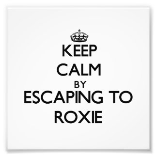 Keep calm by escaping to Roxie New Jersey Photo Print