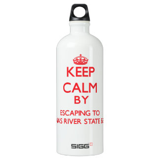 Keep calm by escaping to Salinas River State Beach SIGG Traveller 1.0L Water Bottle