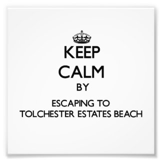 Keep calm by escaping to Tolchester Estates Beach Photo