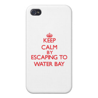 Keep calm by escaping to Water Bay Virgin Islands iPhone 4/4S Cases