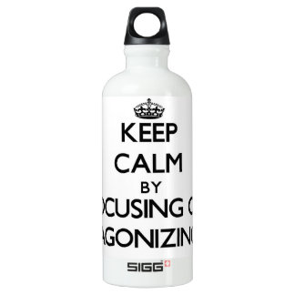 Keep Calm by focusing on Agonizing SIGG Traveller 0.6L Water Bottle
