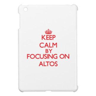 Keep Calm by focusing on Altos iPad Mini Covers