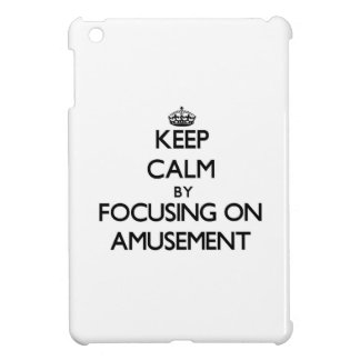 Keep Calm by focusing on Amusement Cover For The iPad Mini