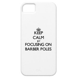 Keep Calm by focusing on Barber Poles iPhone 5/5S Cases