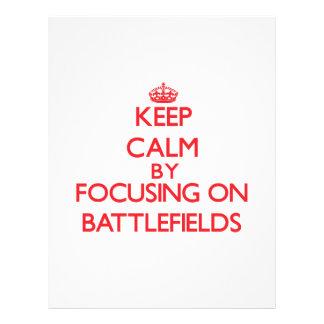 Keep Calm by focusing on Battlefields Flyers