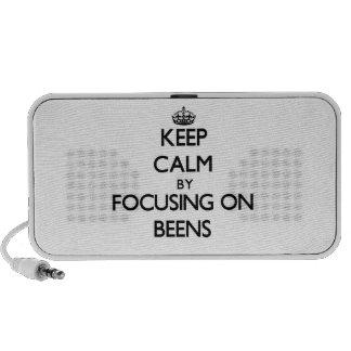 Keep Calm by focusing on Beens Laptop Speakers