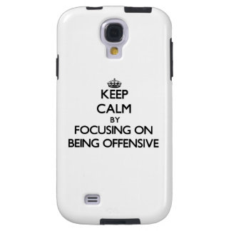 Keep Calm by focusing on Being Offensive
