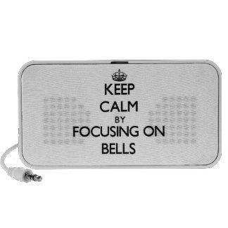 Keep Calm by focusing on Bells Travel Speaker