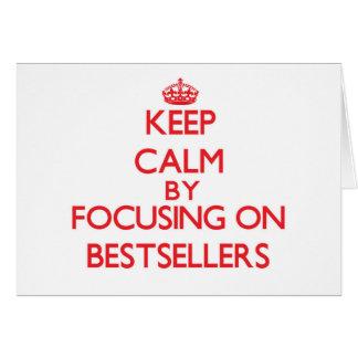 Keep Calm by focusing on Bestsellers Card