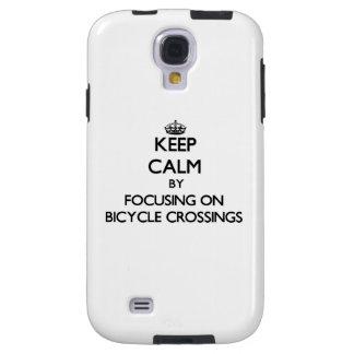 Keep Calm by focusing on Bicycle Crossings