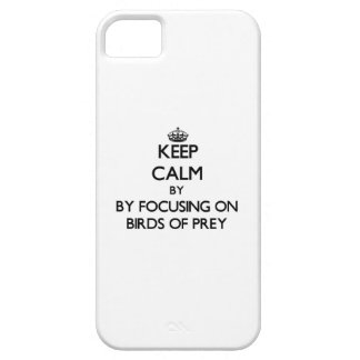 Keep calm by focusing on Birds Of Prey iPhone 5 Covers