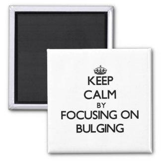 Keep Calm by focusing on Bulging Fridge Magnets