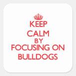 Keep Calm by focusing on Bulldogs