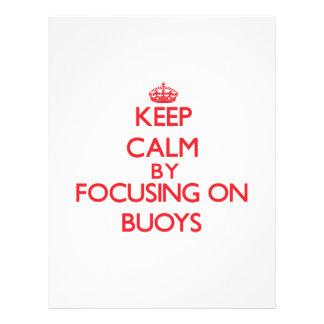 Keep Calm by focusing on Buoys Flyer