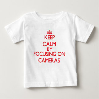 Keep Calm by focusing on Cameras Shirt