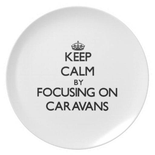 Keep Calm by focusing on Caravans Plates