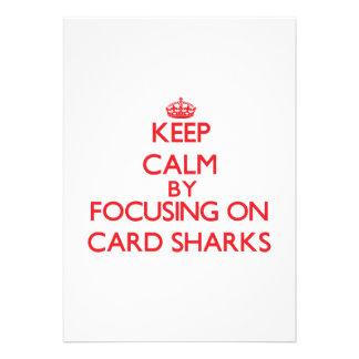 Keep Calm by focusing on Card Sharks