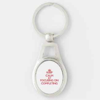 Keep Calm by focusing on Completing Keychains