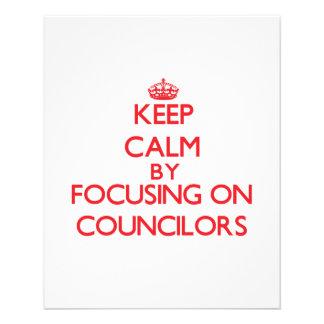 Keep Calm by focusing on Councilors Custom Flyer