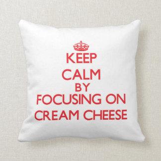Keep Calm by focusing on Cream Cheese Pillows