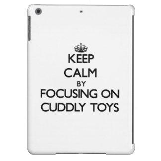 Keep Calm by focusing on Cuddly Toys iPad Air Case