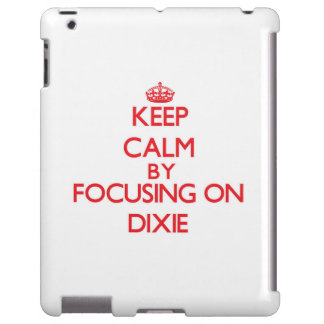 Keep Calm by focusing on Dixie