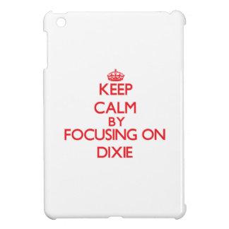 Keep Calm by focusing on Dixie iPad Mini Case
