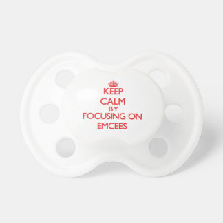 Keep Calm by focusing on EMCEES Baby Pacifiers