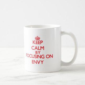 Keep Calm by focusing on ENVY Basic White Mug
