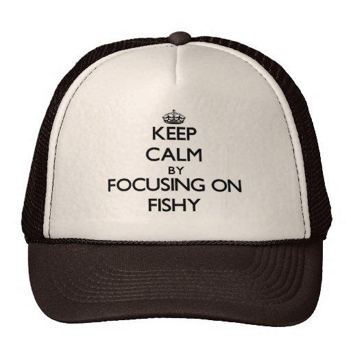 Keep Calm by focusing on Fishy Mesh Hat