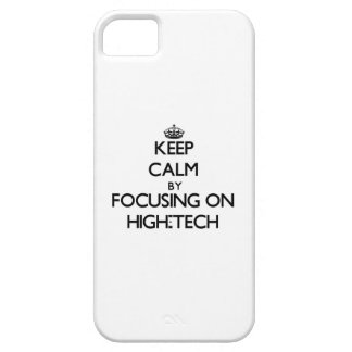 Keep Calm by focusing on High-Tech iPhone 5 Cover