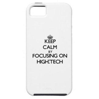 Keep Calm by focusing on High-Tech Tough iPhone 5 Case