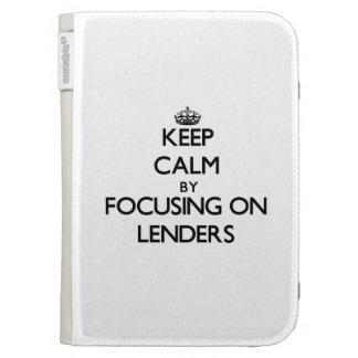 Keep Calm by focusing on Lenders Kindle Keyboard Case