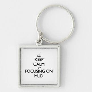 Keep Calm by focusing on Mud Keychains