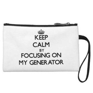 Keep Calm by focusing on My Generator Wristlets