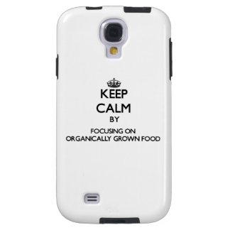 Keep Calm by focusing on Organically Grown Food