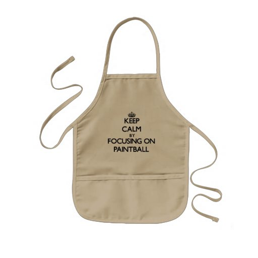 Keep Calm by focusing on Paintball Aprons
