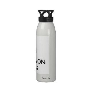 Keep Calm by focusing on Prefabs Water Bottle