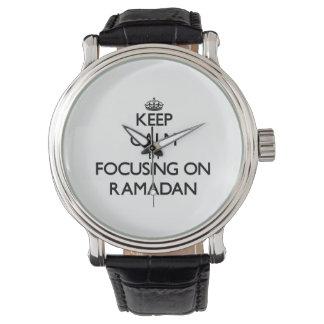 Keep Calm by focusing on Ramadan Wristwatches