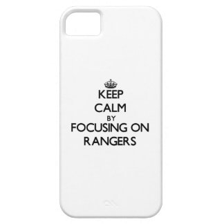 Keep Calm by focusing on Rangers iPhone 5 Cases