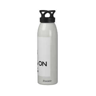 Keep Calm by focusing on Sheiks Reusable Water Bottle