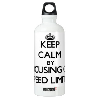 Keep Calm by focusing on Speed Limits SIGG Traveller 0.6L Water Bottle